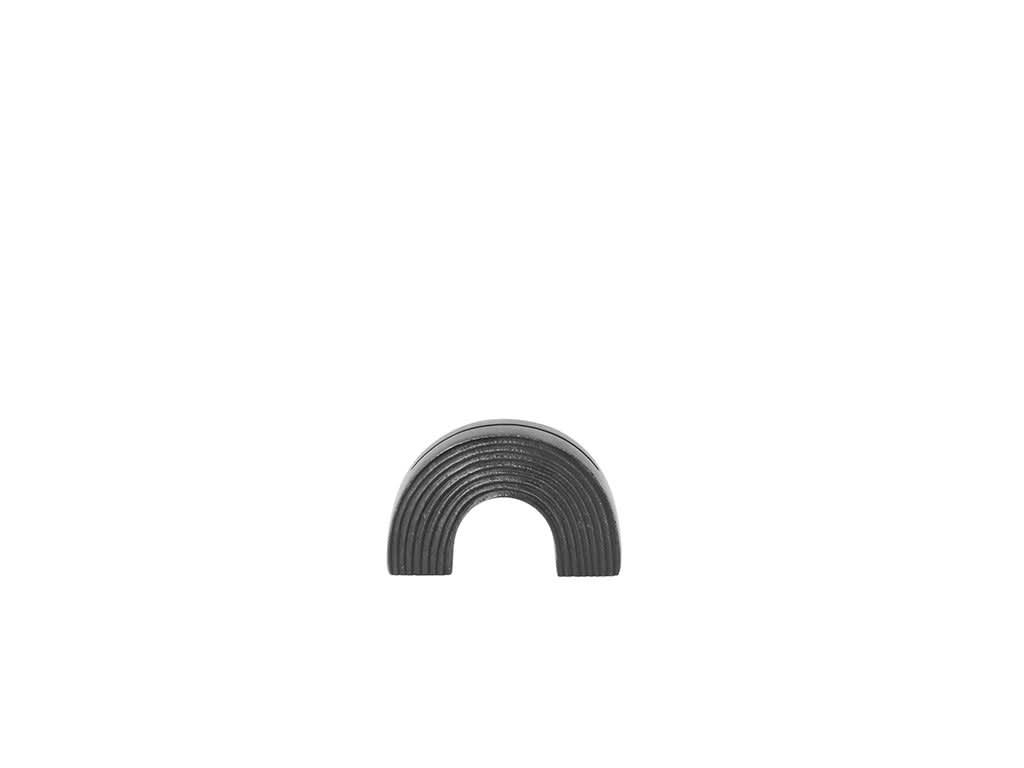 Ferm Living Black Brass Arch Card Stand