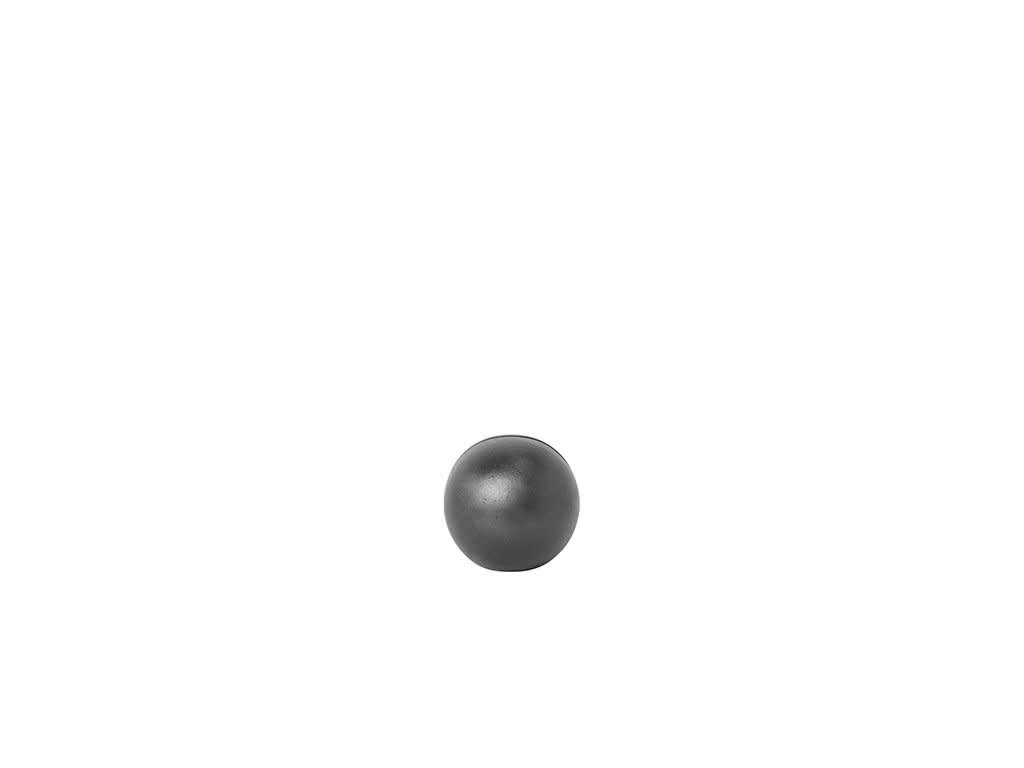 Ferm Living Black Brass Sphere Card Stand
