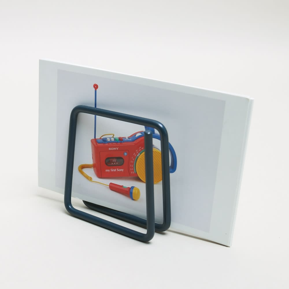 Printer And Tailor Navy Block Letter Rack