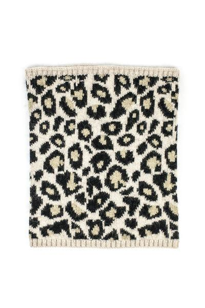 Somerville Scarves Leopard Cashmere Snood