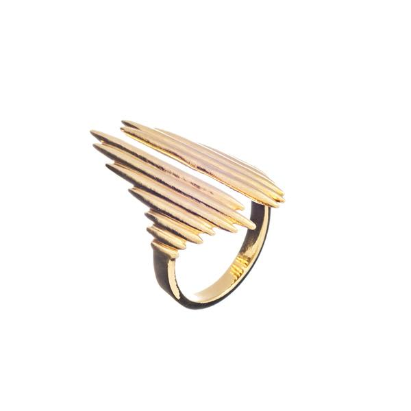 Rachel Jackson Gold Electric Goddess Ring