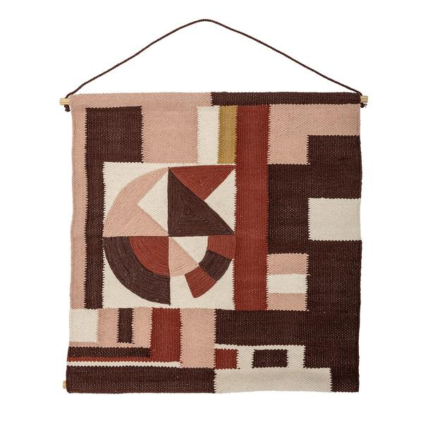 Workshop SY1 Multi Coloured Cotton Wall Hanging