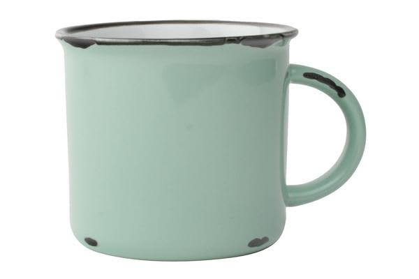 Canvas Home Pea Green Tinware Mug
