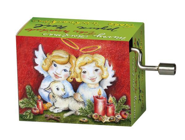 Fridolin We Wish You Christmas Music Box