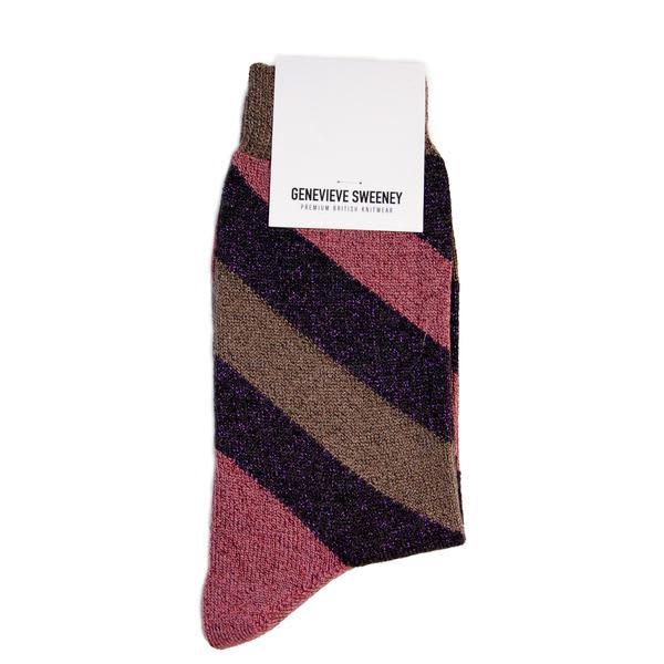 Genevieve Sweeney Socks Serora Lilac