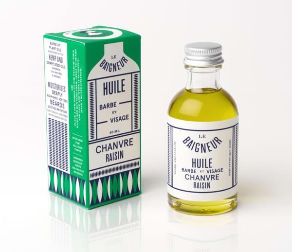 Le Baigneur Hemp And Grapeseed Face Beard Oil