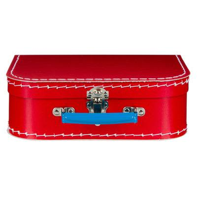 Mechato Red & Blue Kids Storage Suitcase