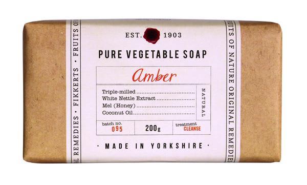Fikkerts Amber Soap Bar