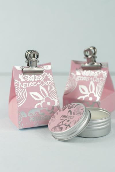 Hare and Home Prosecco Natural Lip Balm
