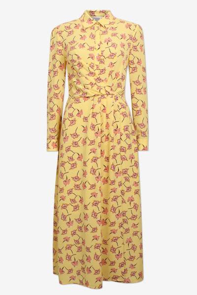 Baum und Pferdgarten Lemon Alham Flowersketch Dress