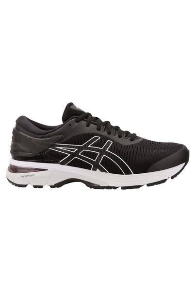 ASICS Black & Glacier Grey Gel Kayano 25 Trainers