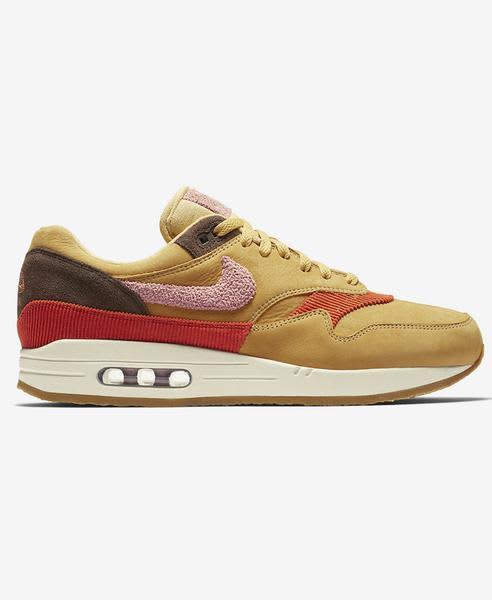 Nike Wheat Gold Air Max 1 Shoe