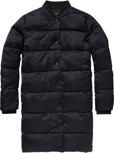 Maison Scotch Black Longer Length Down Coat