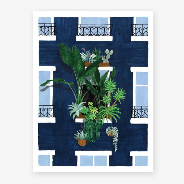 All The Ways To Say 18 X 24 Cm Balcony Art Print