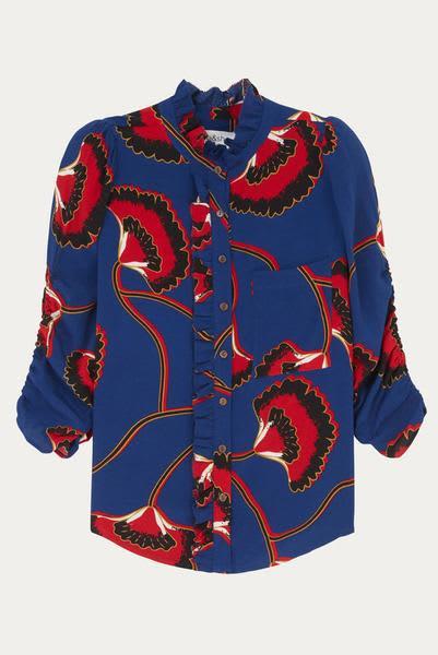 Bash Ba Sh Laura Marine Shirt