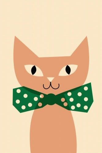 psikhouvanjou Pink Cat Poster