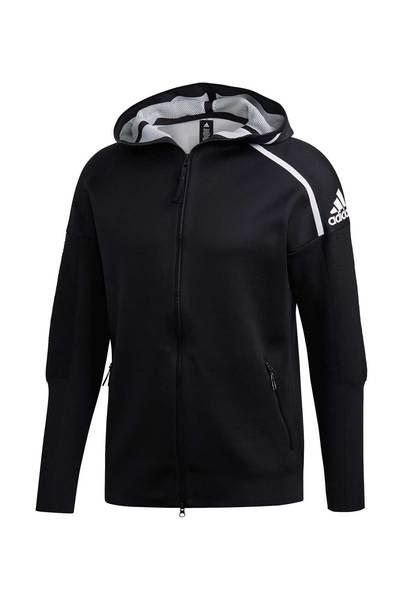 Adidas Black Z N E Primeknit Hoodie