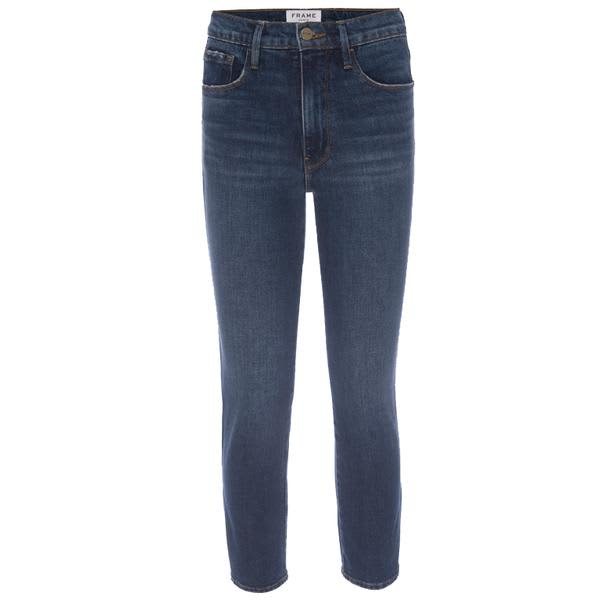 Frame Le Sylvie Crop Mellencamp Jeans