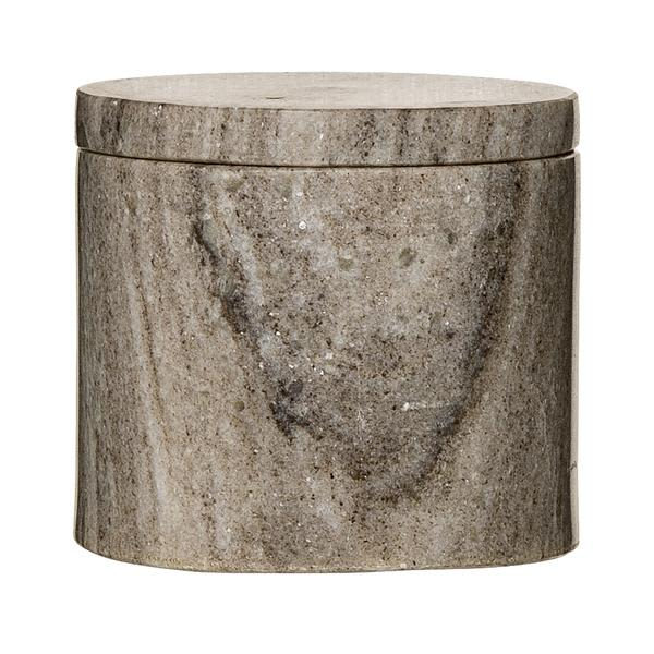 Bloomingville Jar With Lid Natural Marble