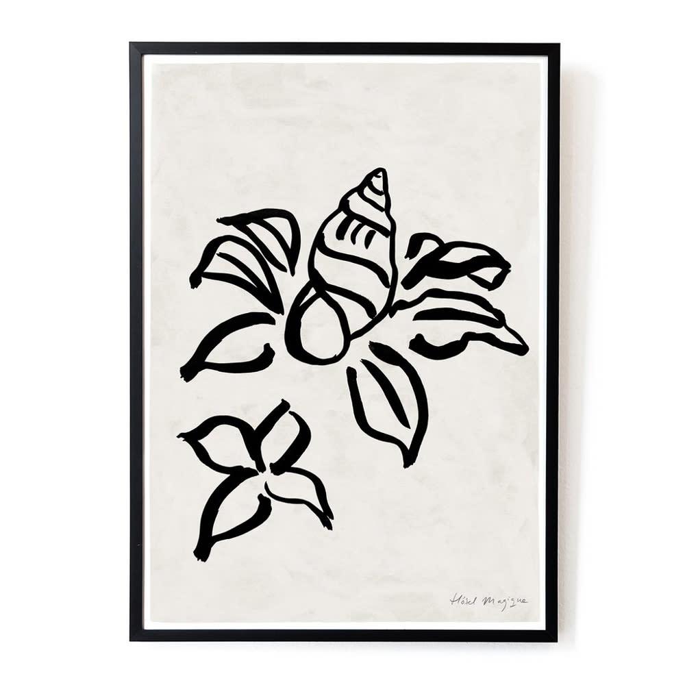 Hotel Magique Shell Flower A3 Print