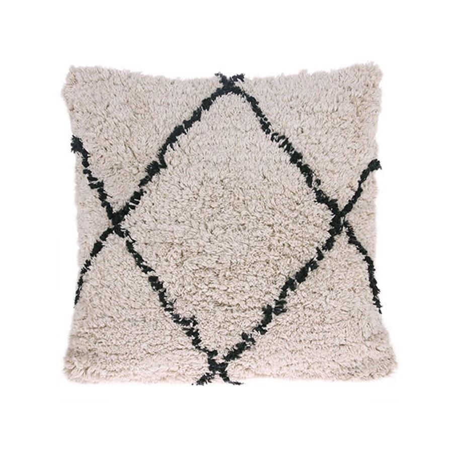 HK Living Cotton Diamond Cushion