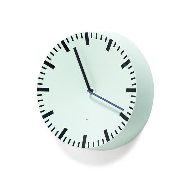 HAY Analog Clock Mint Green