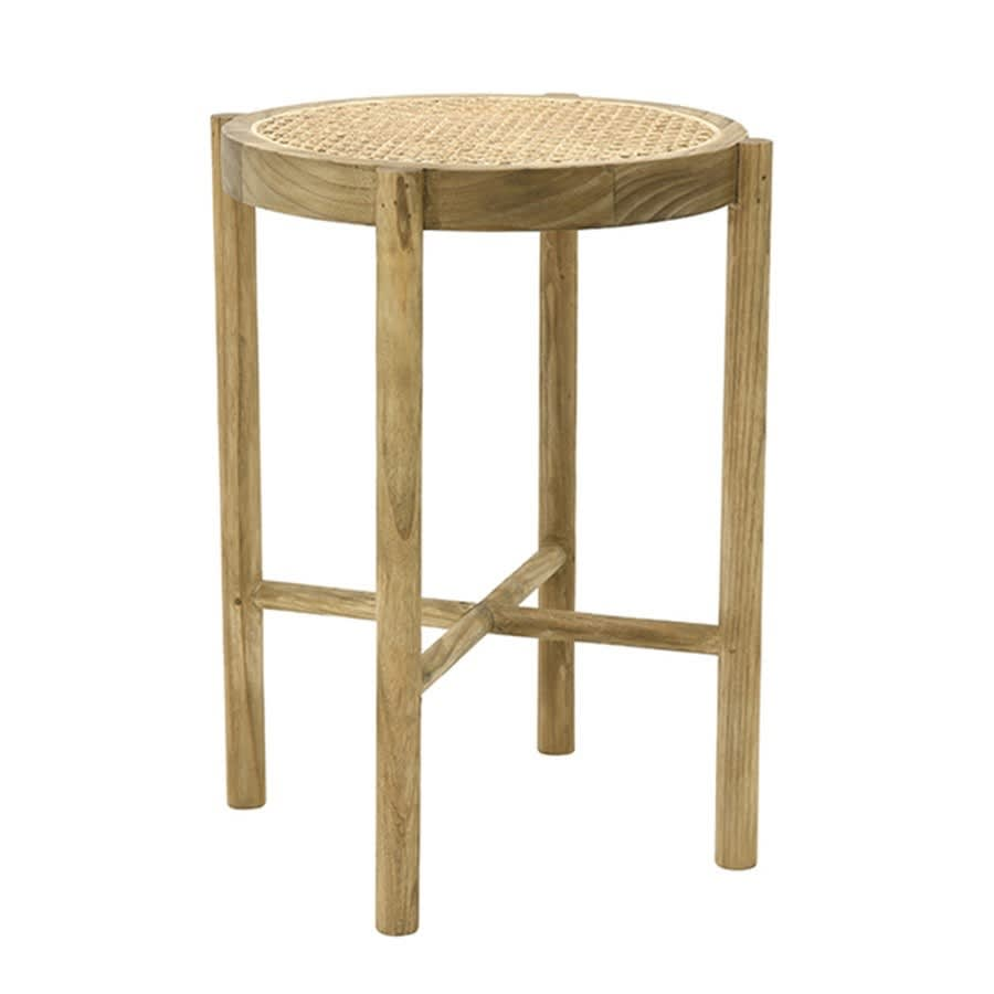 HK Living Natural Retro Webbing Stool