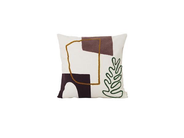 Ferm Living Mirage Cushion Leaf