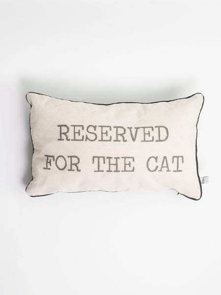 Sass & Belle  Reserved For The Cat Cushion Cover