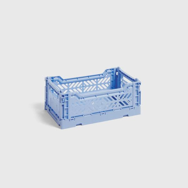 HAY Colour Crate Small Light Blue