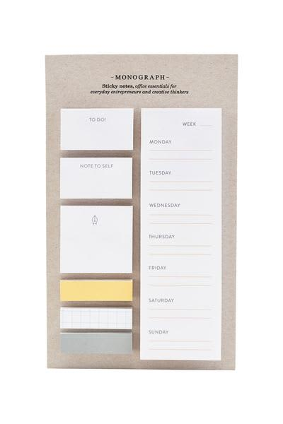 House Doctor Sticky Notes Set Monograph