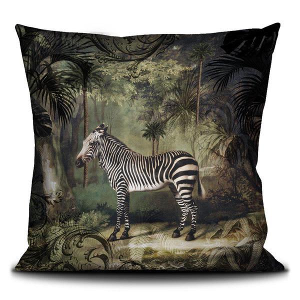 Wyld Home Zebra Cushion