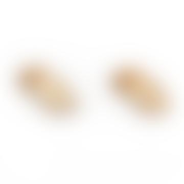 Twin Peaks 'Log Lady' Wooden Earrings