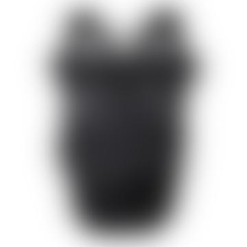 Ronan Rolltop Laptop Backpack - Black on Black