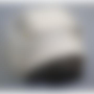 Whelan Cotton Webbing Belt - Deep Brown & Ecru