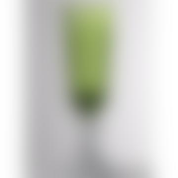 Mario Luca Giusti  Green Dolce Vita Champagne Glass