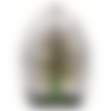 Mats Jonasson Tree Of Life Crystal Sculpture Large Green
