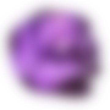 Purple Skull Votive Candle Holder