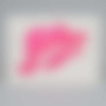 Forever Letterpress & Foil Card In Fluoro Pink & Pink Foil
