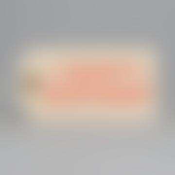 6 X Happy Birthday Tags In Fluoro Orange