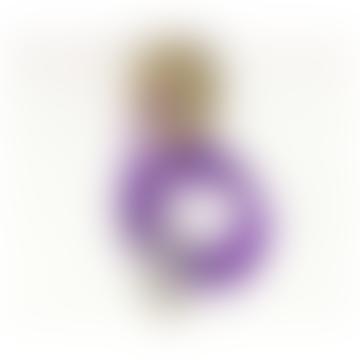 Cuemars Purple Ceiling Rose Pendant Set