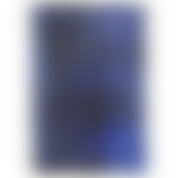 Unity Indigo Abstract A3 Framed Print