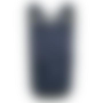 Navy Cillian Mid Zip Top Backpack