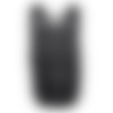 Black Cillian Mid Zip Top Backpack