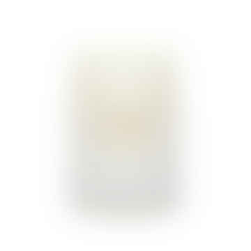 Matte White Glass Petiole Scented Candle