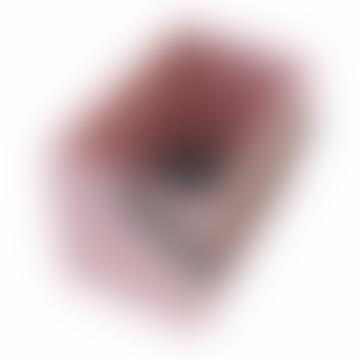 Hachiman Omnioffre Stacking Storage Box Medium in Rose Pink/Grey