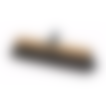 Oiled Ashwood Broom Head With Arenga Fibre Bristle For Unthreaded Handle