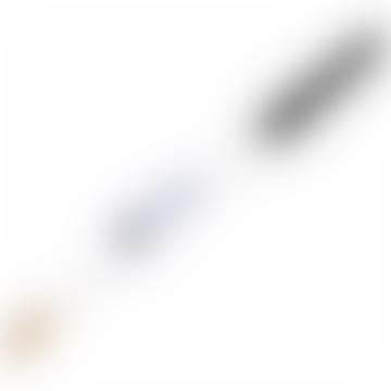 Large Dark Bristle Radiator Brush