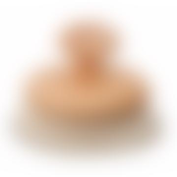 Wooden Massage Brush With Bristle & Knob