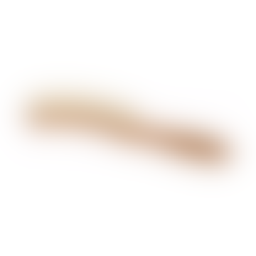 Oiled Pearwood Crescent Shaped Hat Brush